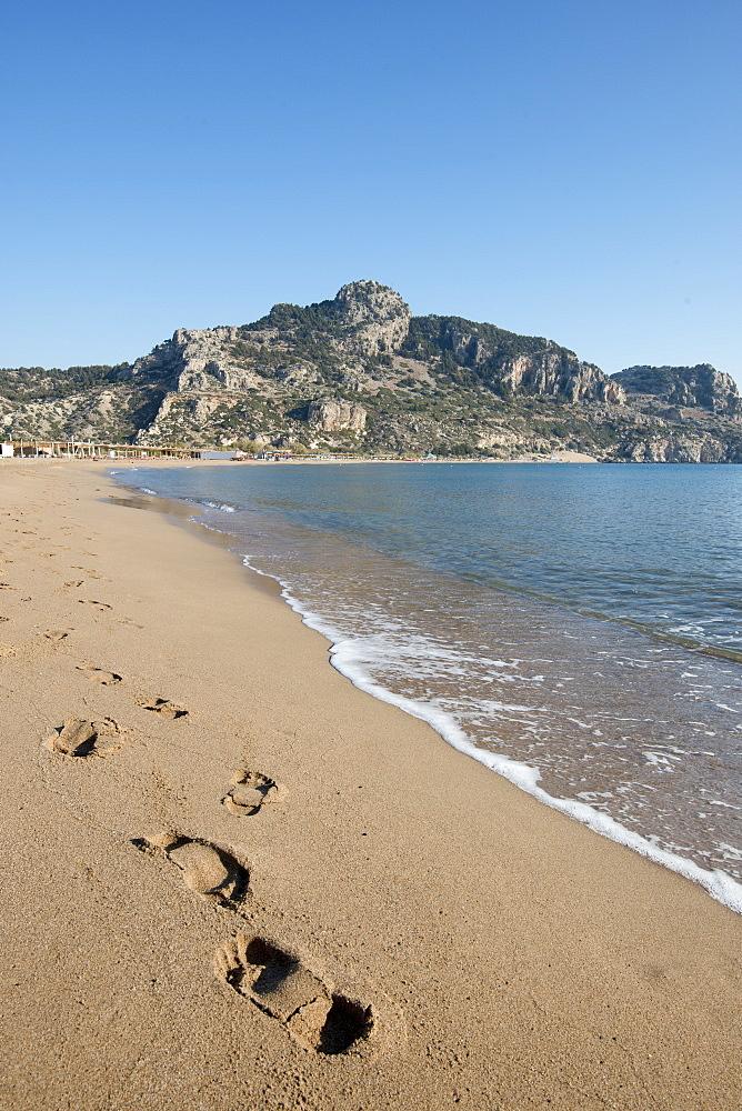 Tsambika Beach, Rhodes, Greece - 1331-116