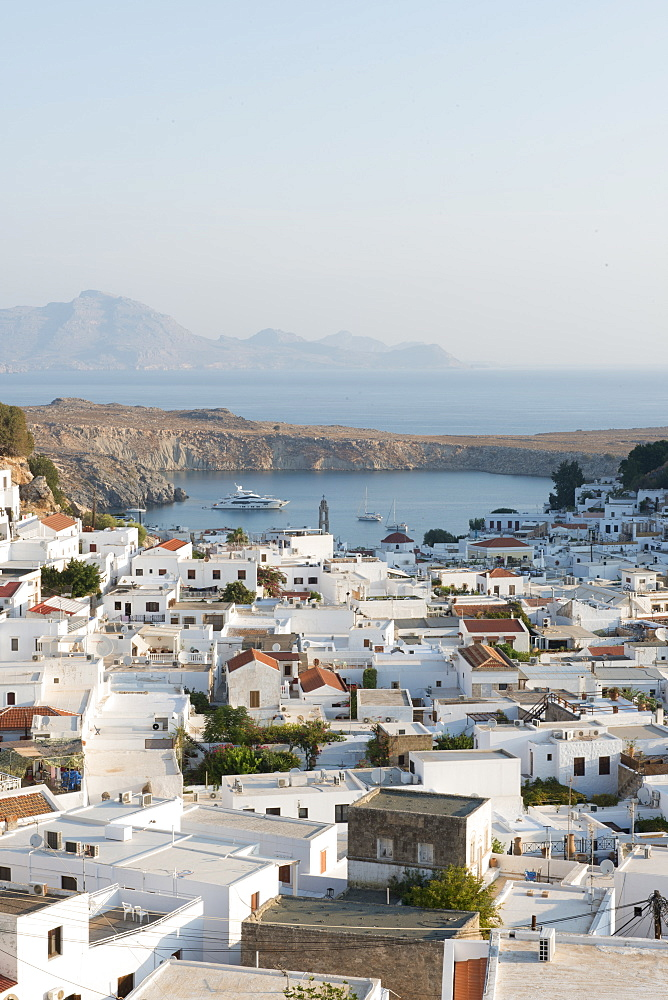 View over Lindos town, Rhodes, Greece - 1331-92