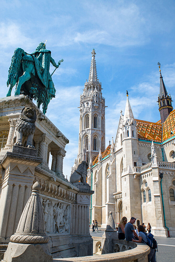 St Matthew's Cathedral, Budapest, Hungary - 1341-108