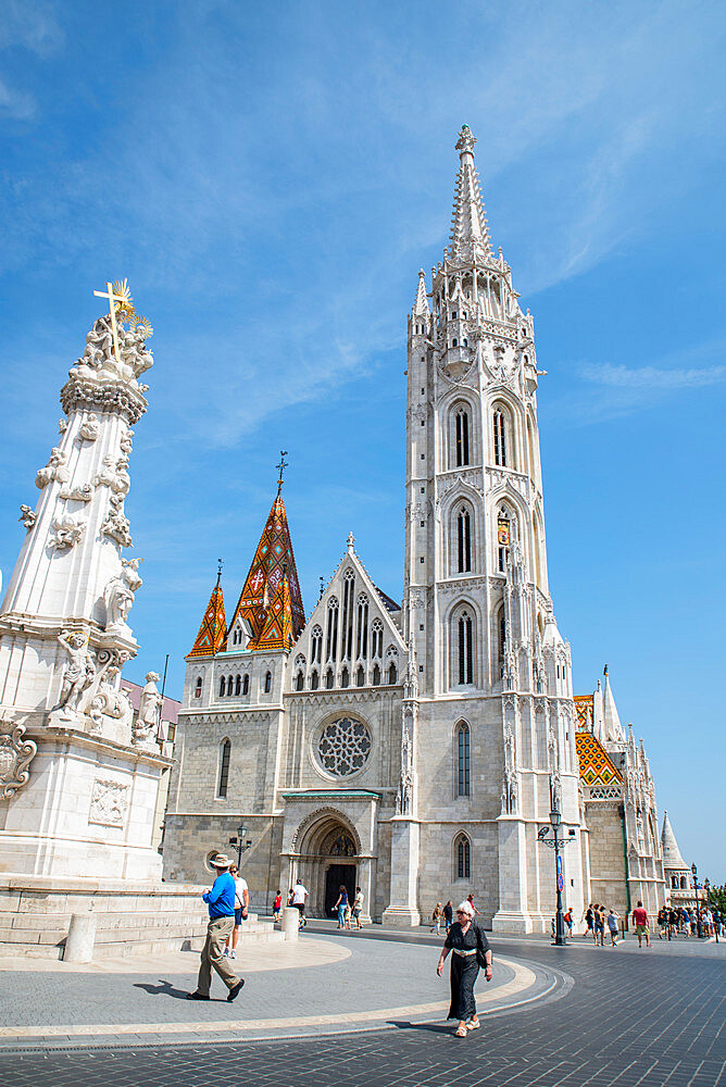 St Matthew's Cathedral, Budapest, Hungary - 1341-110