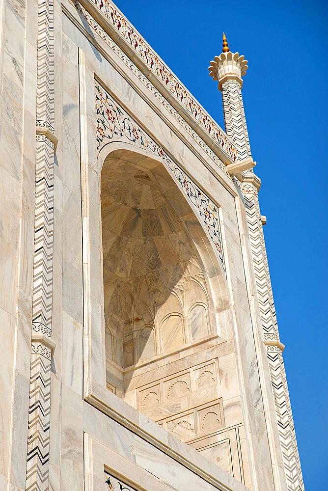 Taj Mahal, UNESCO World Heritage Site, Agra, Uttar Pradesh, India, Asia - 1341-54