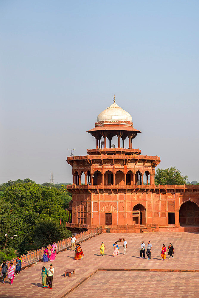 Taj Mahal, UNESCO World Heritage Site, Agra, Uttar Pradesh, India, Asia - 1341-55