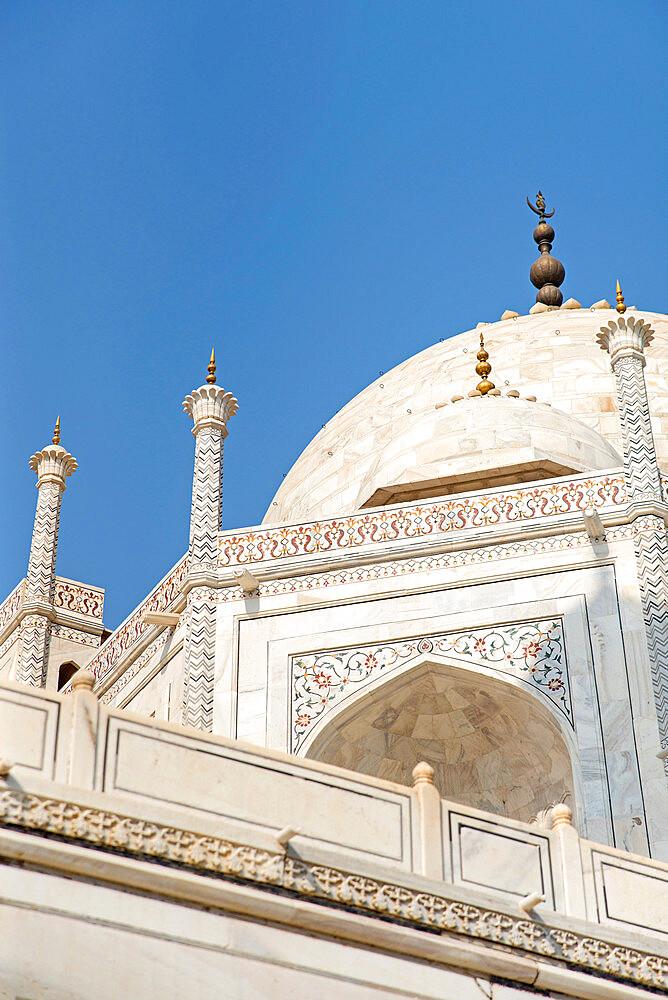 Taj Mahal, UNESCO World Heritage Site, Agra, Uttar Pradesh, India, Asia - 1341-56