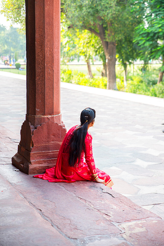 Taj Mahal, UNESCO World Heritage Site, Agra, Uttar Pradesh, India, Asia - 1341-61