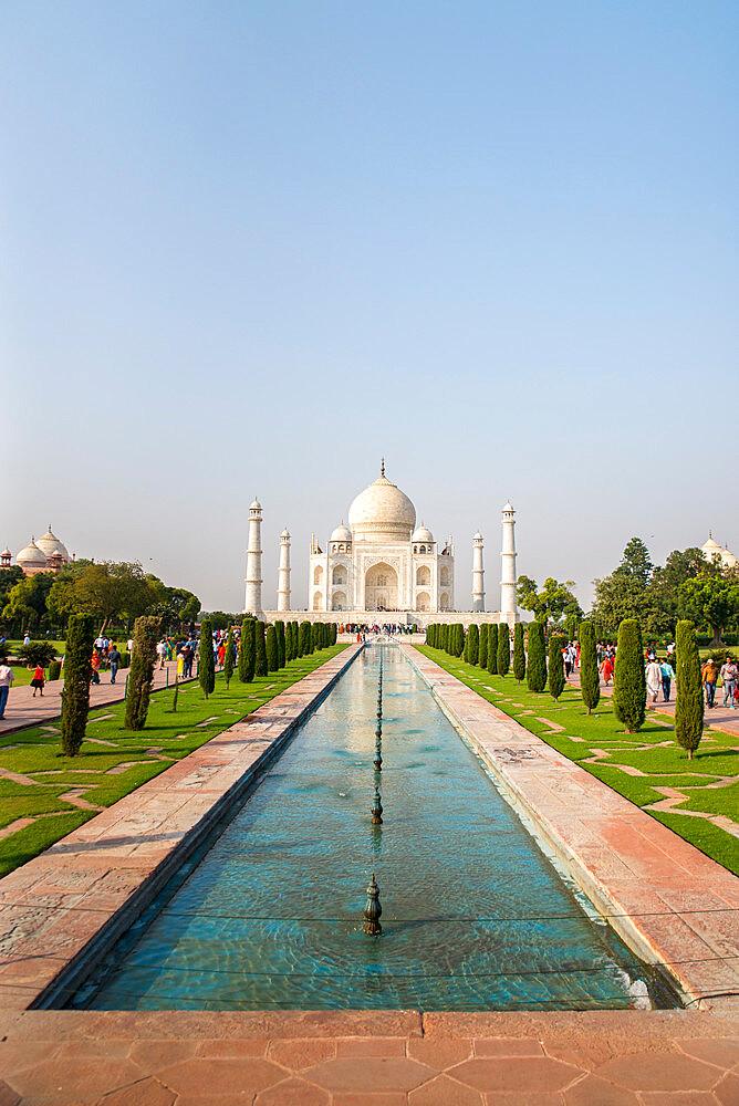 Taj Mahal, UNESCO World Heritage Site, Agra, Uttar Pradesh, India, Asia - 1341-62