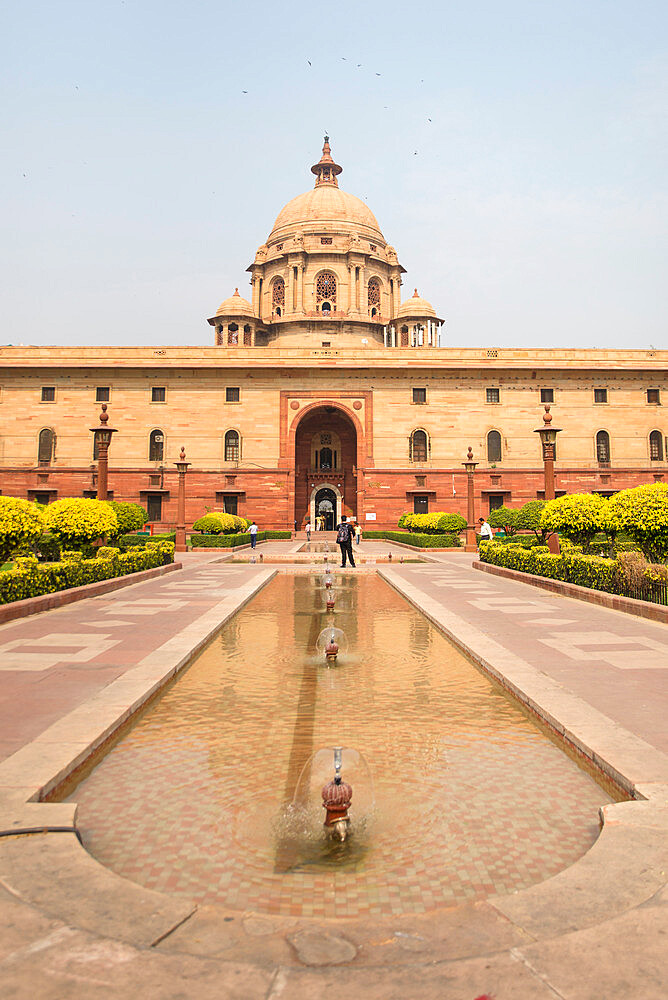 Indian Government buildings, New Delhi, India, Asia - 1341-72
