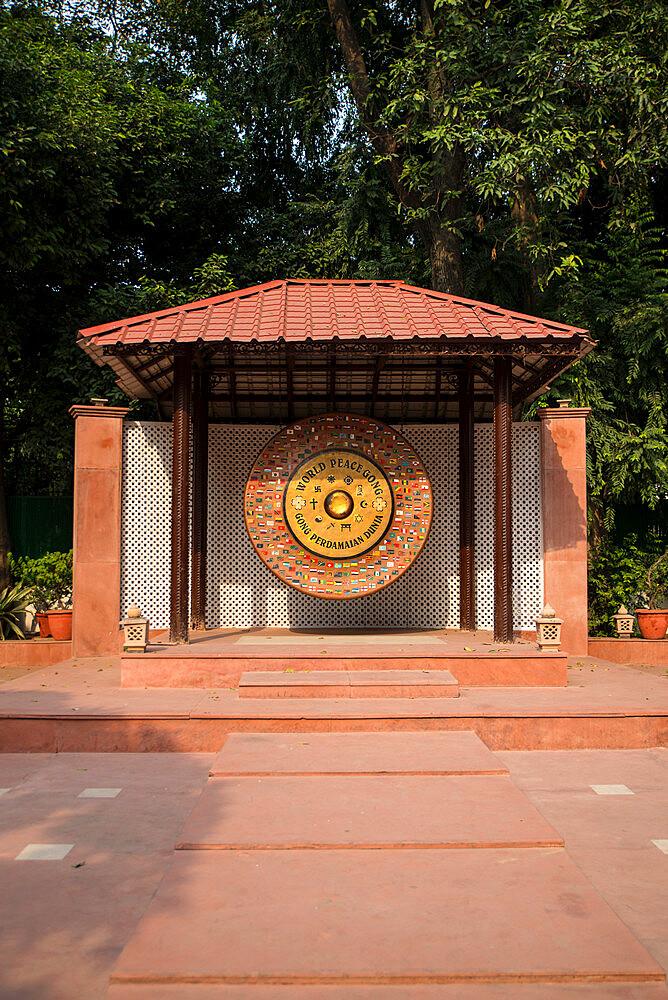 Gandhi Smriti, Memorial Museum to Mahatma Gandhi and site of assassination, New Delhi, India, Asia - 1341-75