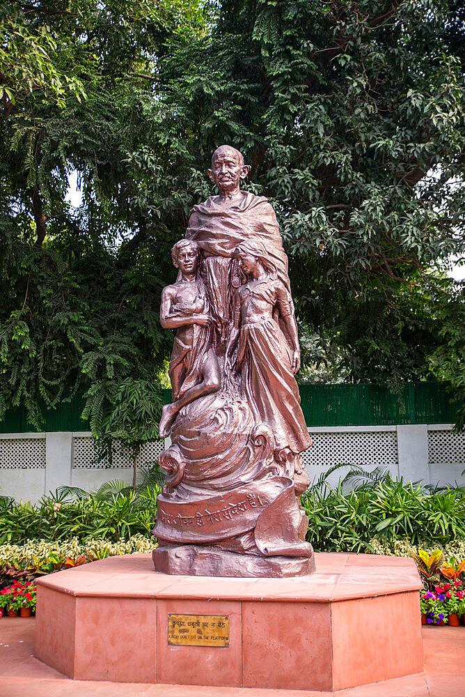 Gandhi Smriti, Memorial Museum to Mahatma Gandhi and site of assassination, New Delhi, India, Asia - 1341-81