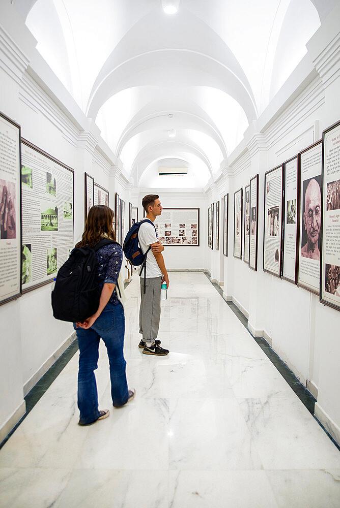 Gandhi Smriti, Memorial Museum to Mahatma Gandhi and site of assassination, New Delhi, India, Asia - 1341-82