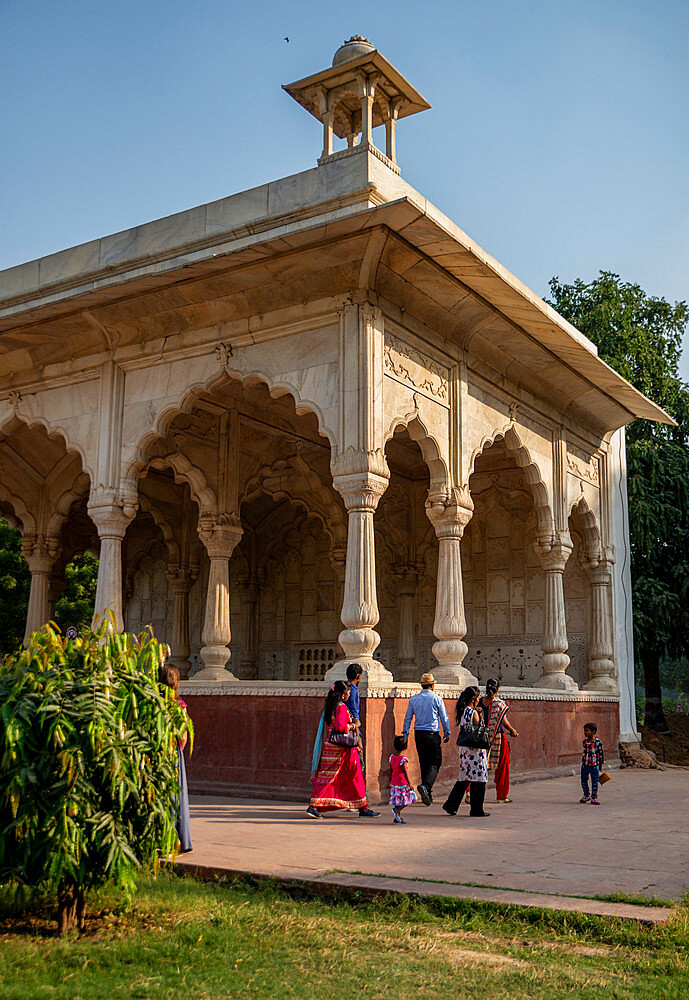Red Fort, UNESCO World Heritage Site, Delhi, India, Asia - 1341-85