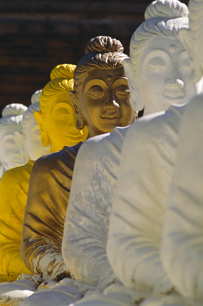 The 106 pieces of cemented Buddha statue at Wat Pangbua, Samui island Ko Samui), Gulf of Thailand, Thailand, Asia