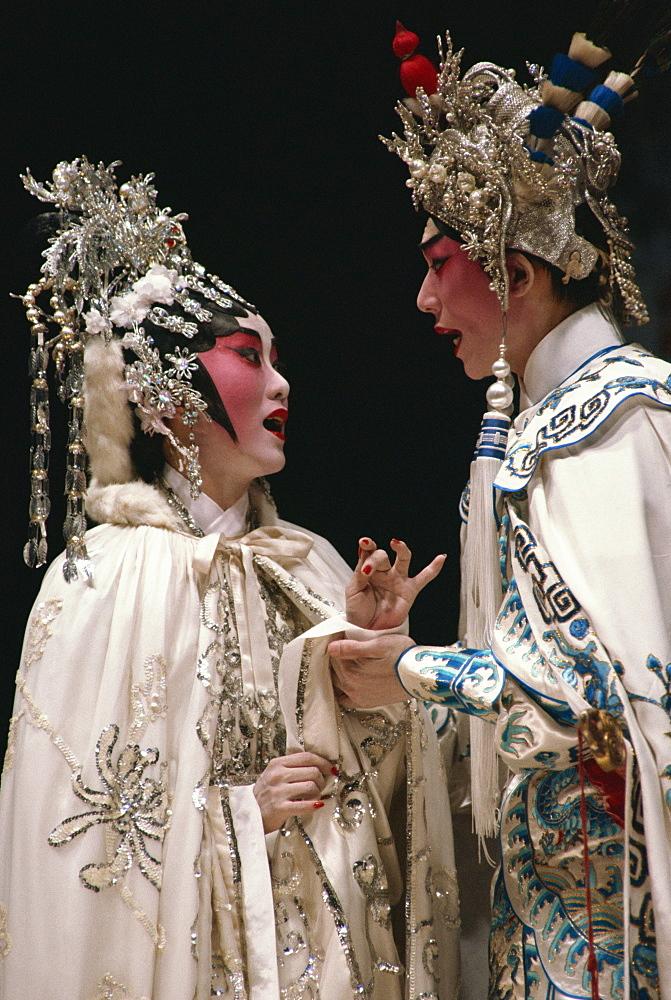 Chinese stage opera, Cheung Chau Island, Hong Kong, China, Asia - 142-2635