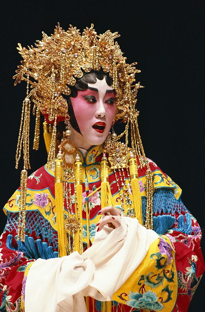 Chinese stage opera, Cheung Chau Island, Hong Kong, China, Asia - 142-2796