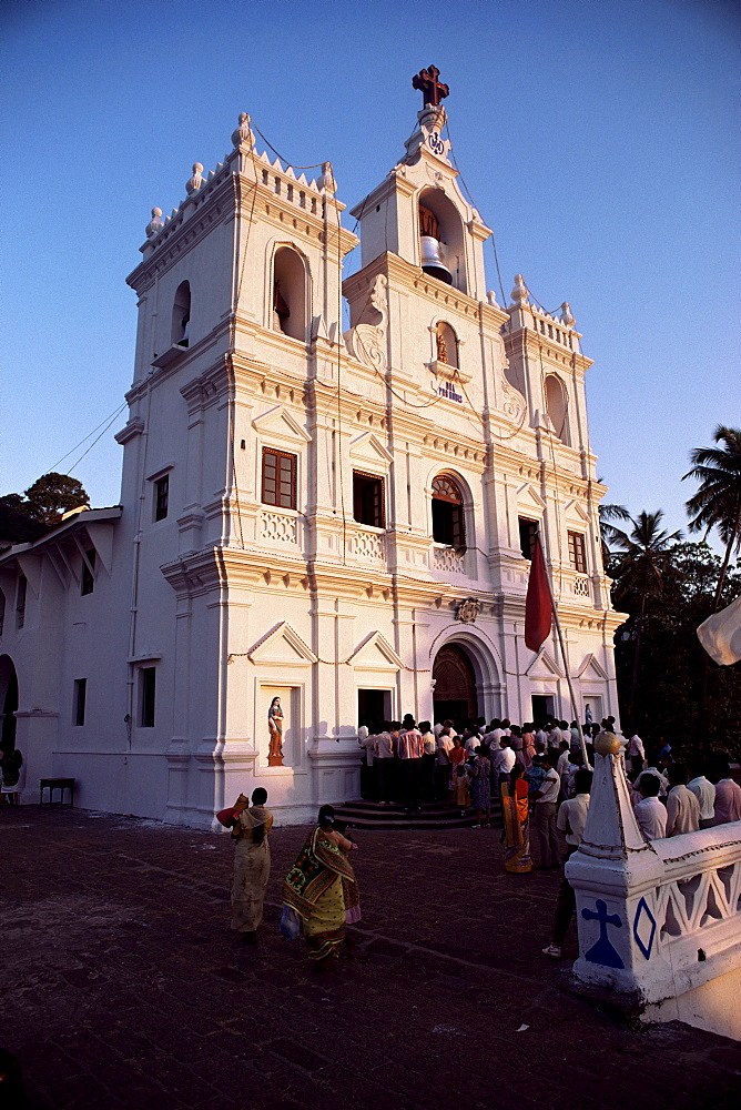 Church of the Immaculate Conception, Panaji Town, Goa, India, Asia