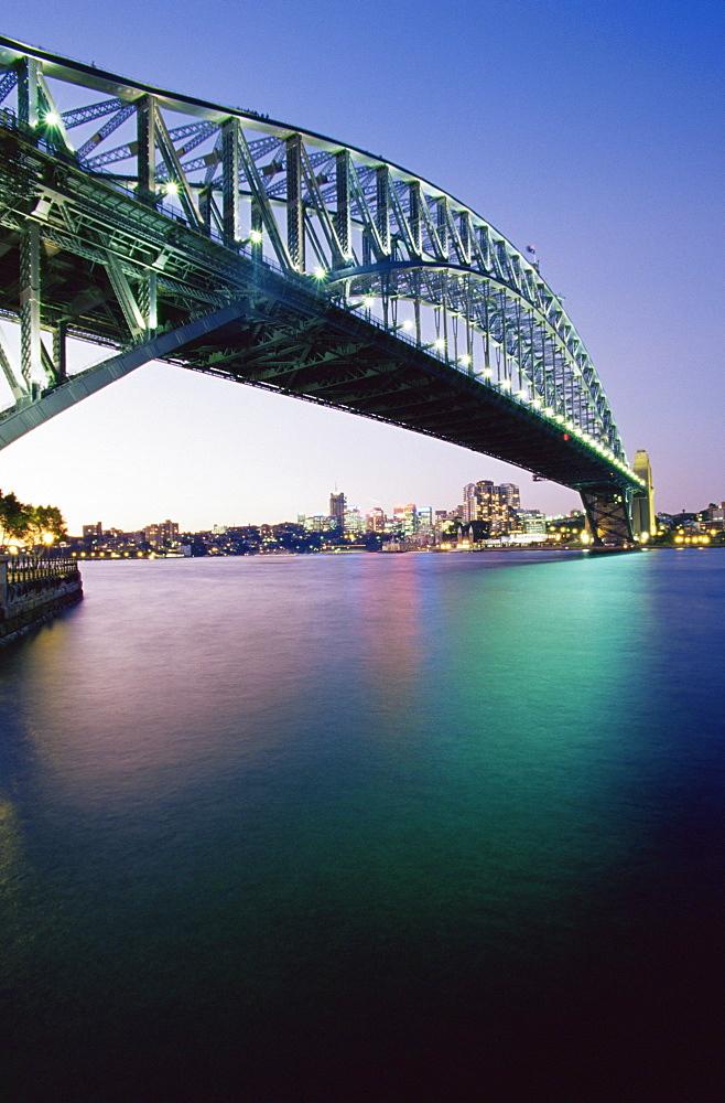 Sydney Harbour Bridge, Circular Quay Pier, Sydney, New South Wales, Australia, Pacific - 142-6022