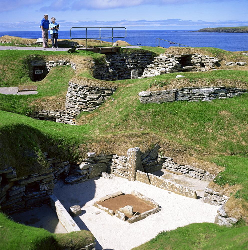 Skara Brae, Mainland, Orkneys, Scotland, United Kingdom, Europe