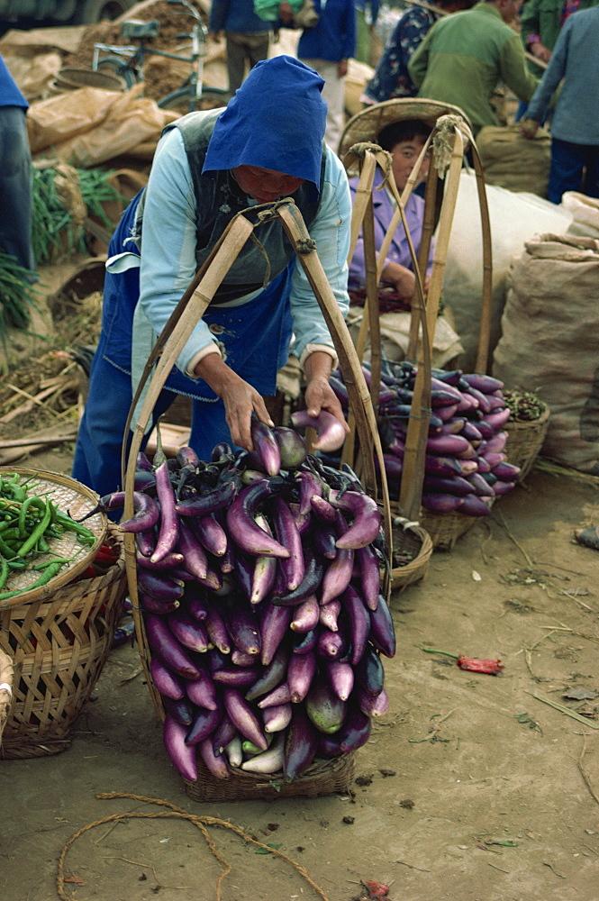 Market, Kunming, Yunnan, China, Asia - 188-3005
