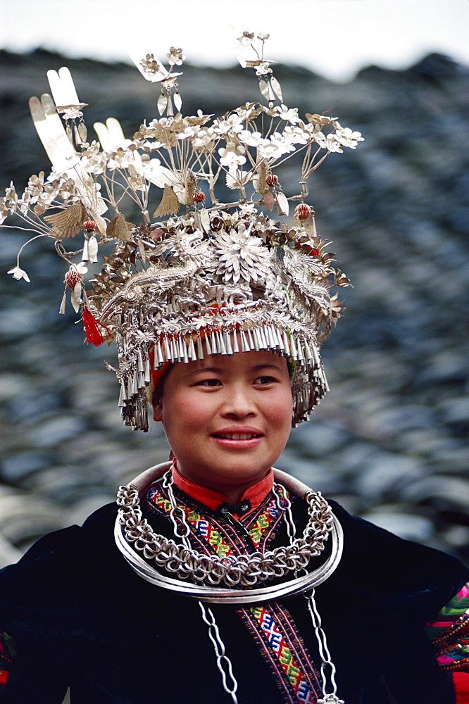 Miao bride, Taigong, China, Asia - 188-4650