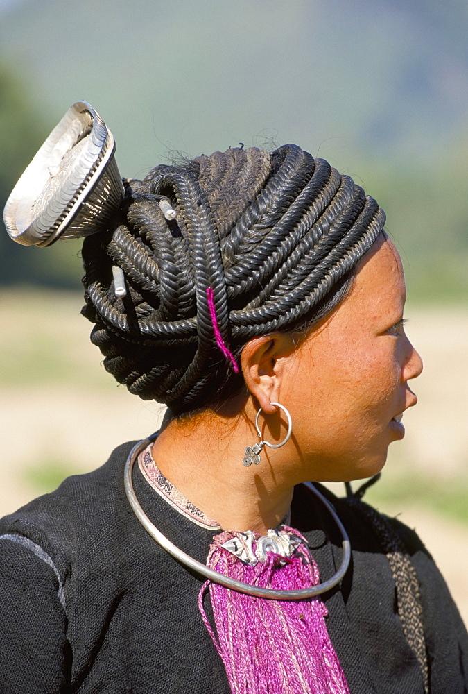 Dao woman, Tam Duong, north Vietnam, Indochina, Southeast Asia, Asia