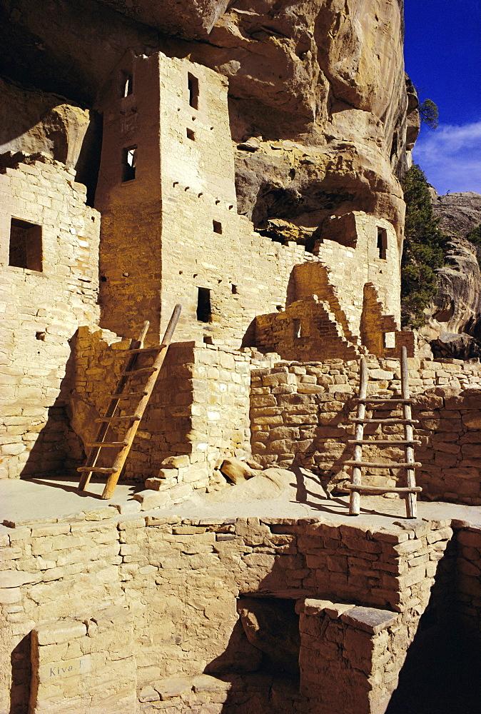 Cliff Palace, Mesa Verde, Anasazi culture, Colorado, USA