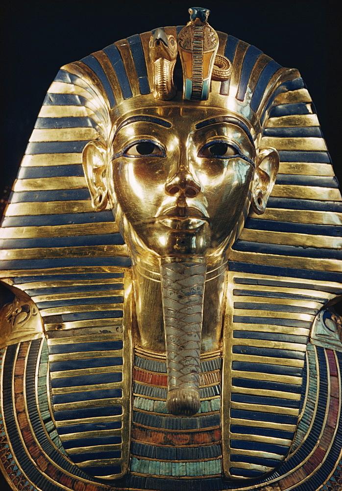 Tutankhamun, Cairo Museum, Egypt, North Africa, Africa