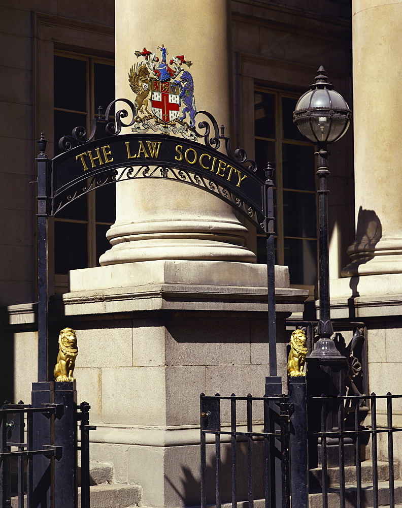 The Law Society entrance, London, England, United Kingdom, Europe - 190-7883