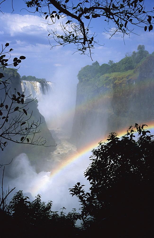 Victoria Falls, UNESCO World Heritage Site, Zimbabwe, Africa - 197-2467