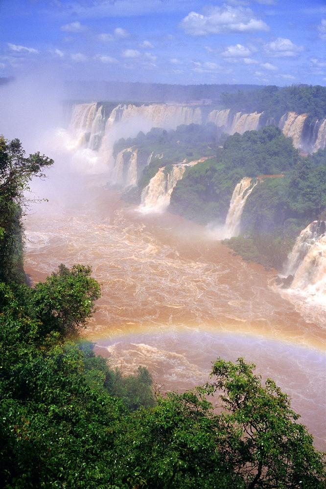 Iguacu Falls, Parana State, Brazil, South America
