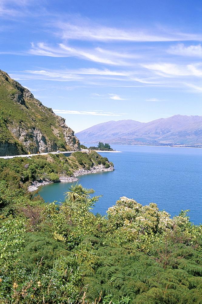 Lake Wanaka, Otago district, South Island, New Zealand, Pacific