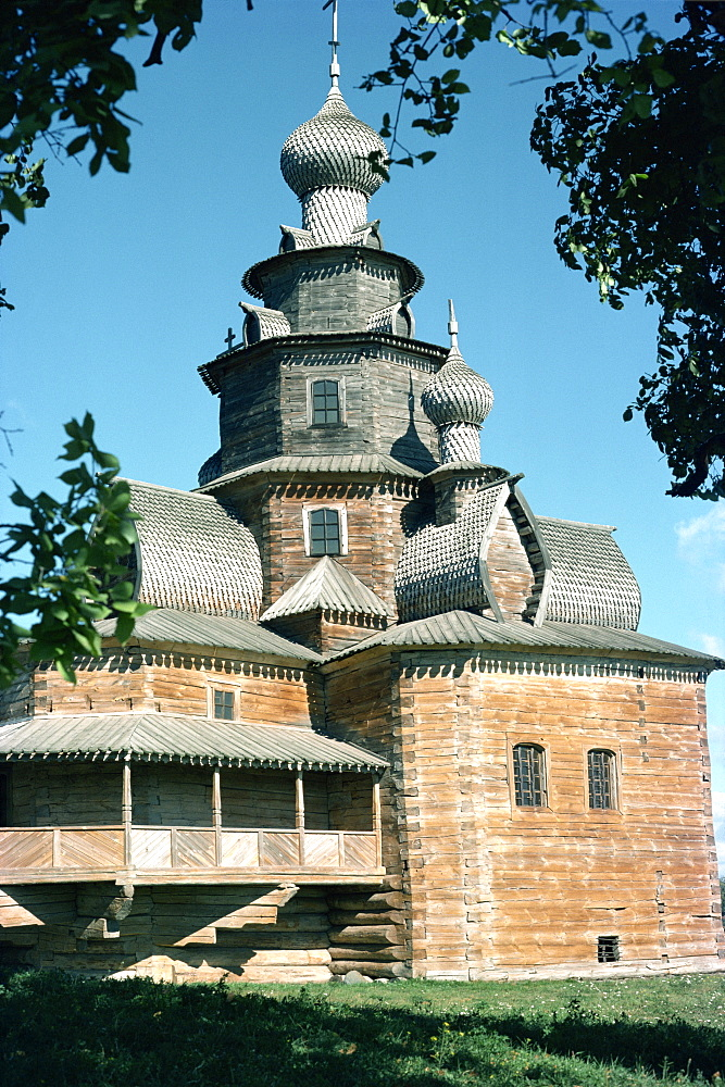 Wooden church, Suzdal, Russia, Europe