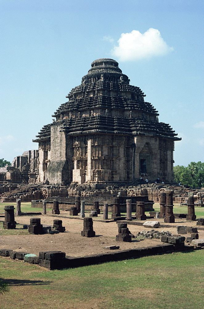 The Sun Temple, Konarak, UNESCO World Heritage Site, Orissa state, India, Asia - 2-15292