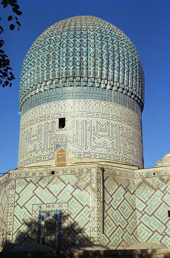 Gur Emir, Tomb of Tamerlane, Samarkand, UNESCO World Heritage Site, Uzbekistan, Central Asia, Asia