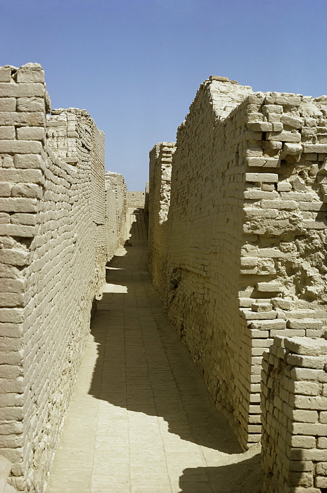 Mohenjodaro, Indus Valley civilization, UNESCO World Heritage Site, Pakistan, Asia