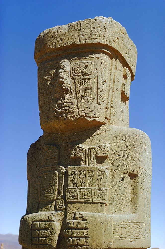 Tiahuanaco, 400-900 AD, Bolivia, South America