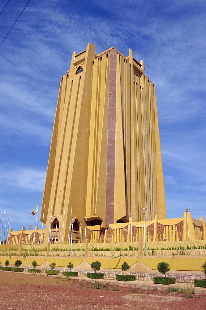 Building, Bamako, Mali, Africa
