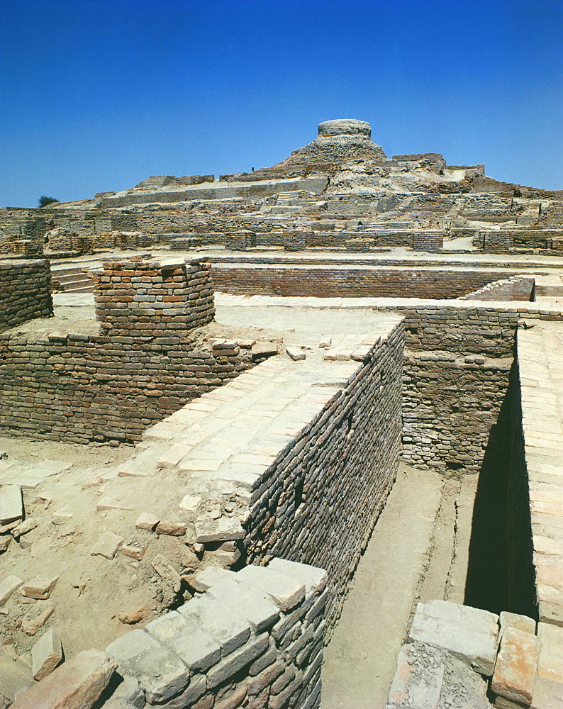 Ruins of the Indus Civilization, Mohenjodaro, UNESCO World Heritage Site, Pakistan, Asia