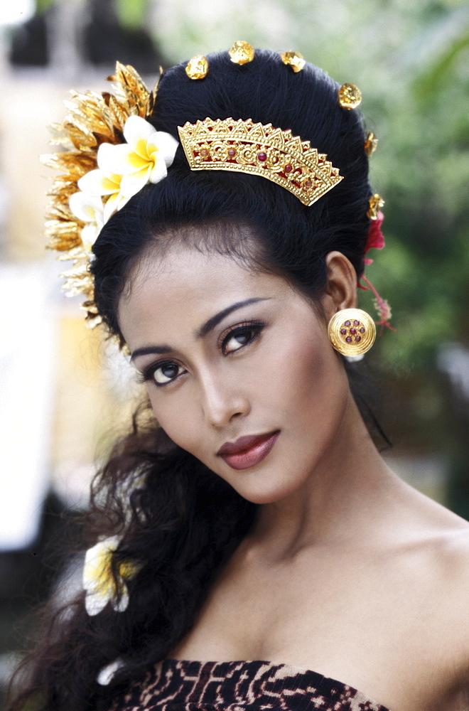 Balinese girl, Bali, Indonesia, Southeast Asia, Asia