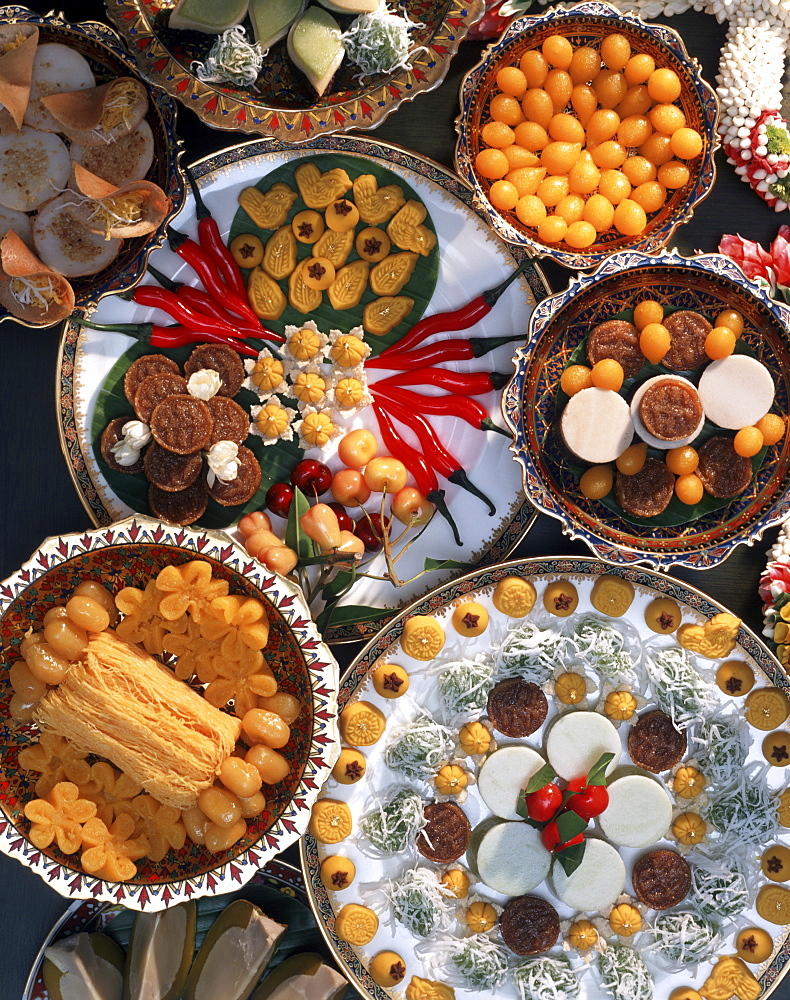 Sweets, Thai Food in Thailand, Southeast Asia, Asia - 238-4970