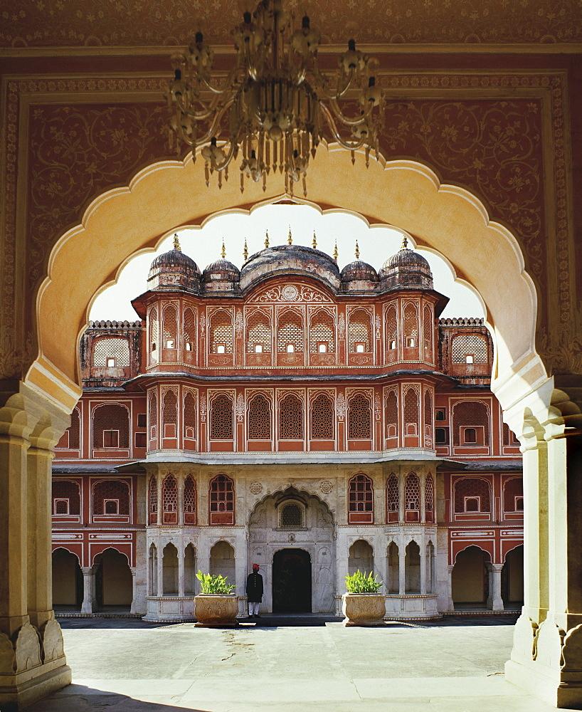 Jaipur Palace, Rajastan, India, Asia