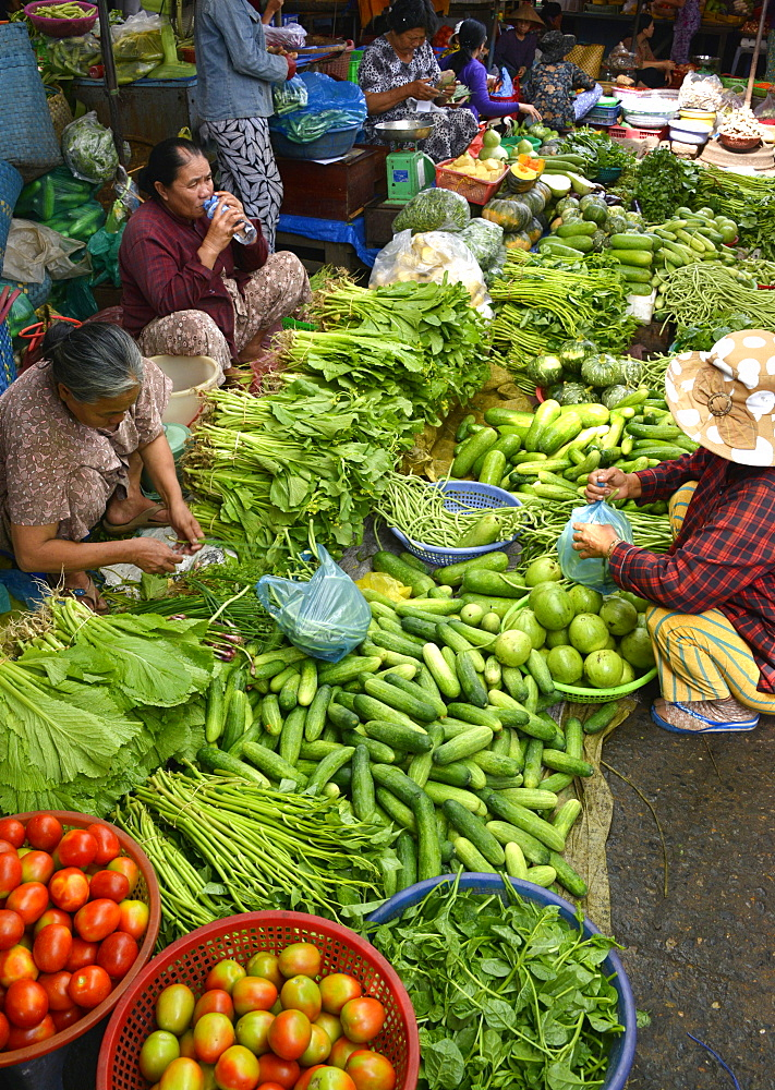 Market, Phan Thiet, Vietnam, Indochina, Southeast Asia, Asia - 238-6345