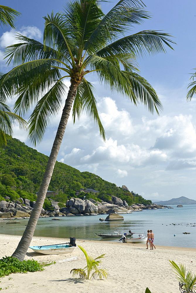 Beach scene, Ko Samui, Thailand, Southeast Asia, Asia - 238-6369