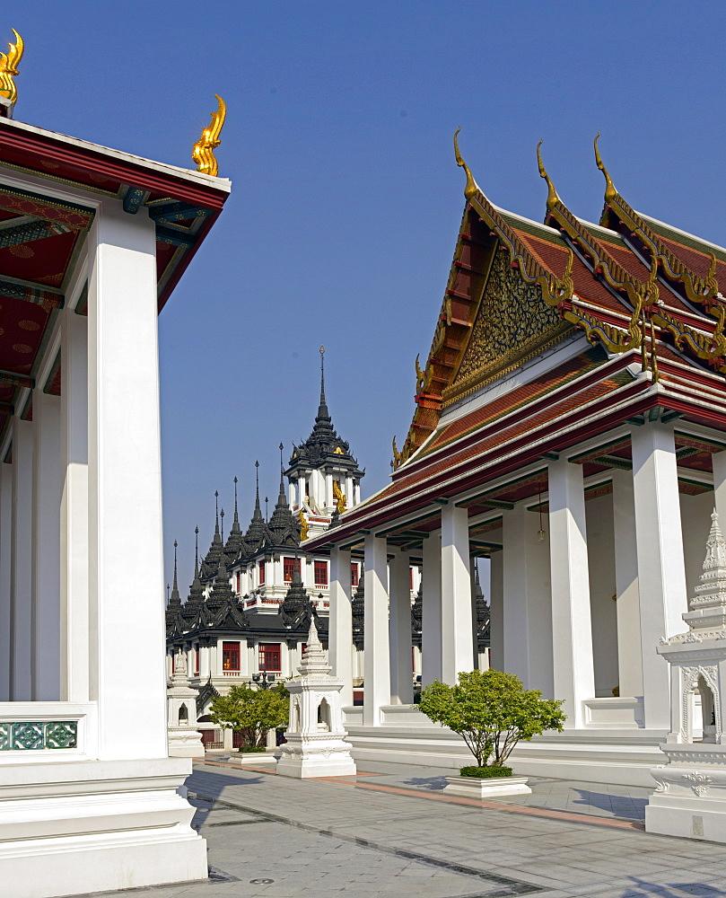 The Loha Prasat, Bangkok, Thailand, Southeast Asia, Asia  - 238-6428
