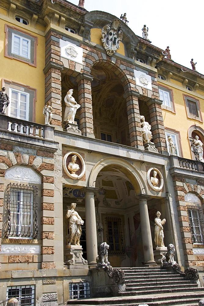 Villa Torrigiani, Camigliano village, Lucca, Tuscany, Italy, Europe