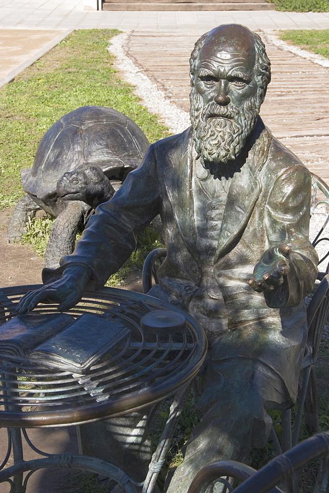 Sculpture of Darwin, Science Park, Granada, Andalucia, Spain, Europe - 253-3638