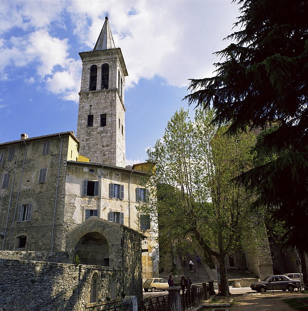 Spoleto, Umbria, Italy, Europe