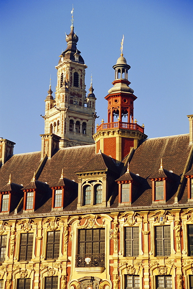 Vielle Bourse, Grand Place, Lille, Nord, France, Europe