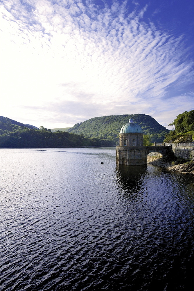 Elan Valley, site of reservoirs that provide the water supply for the city of Birmingham, Wales, United Kingdom, Europe