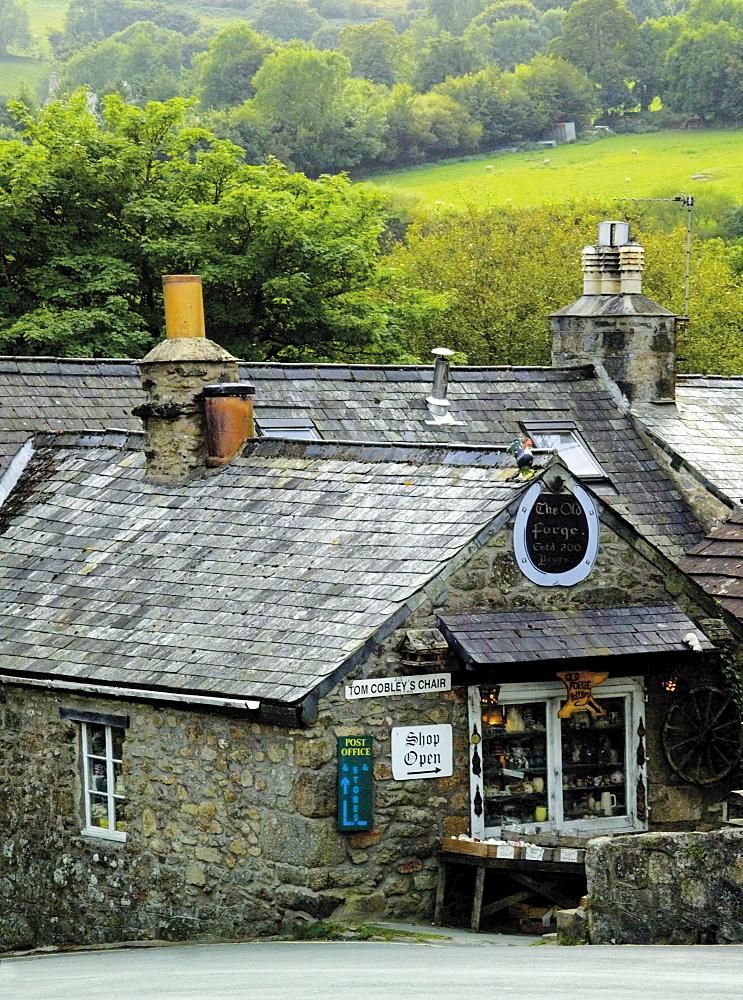 Widecombe village, Devon, England, United Kingdom, Europe