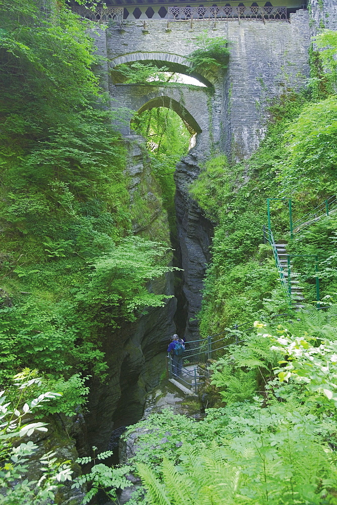 Devils Bridge, Aberystwyth, Dyfed, Wales, United Kingdom, Europe