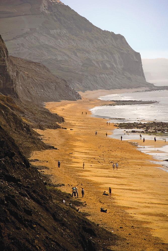 Charmouth, Jurassic Coast, UNESCO World Heritage Site, Dorset, England, United Kingdom, Europe